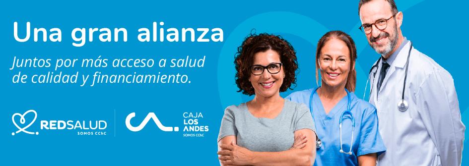 Alianza RedSalud y Caja de compensación los Andes